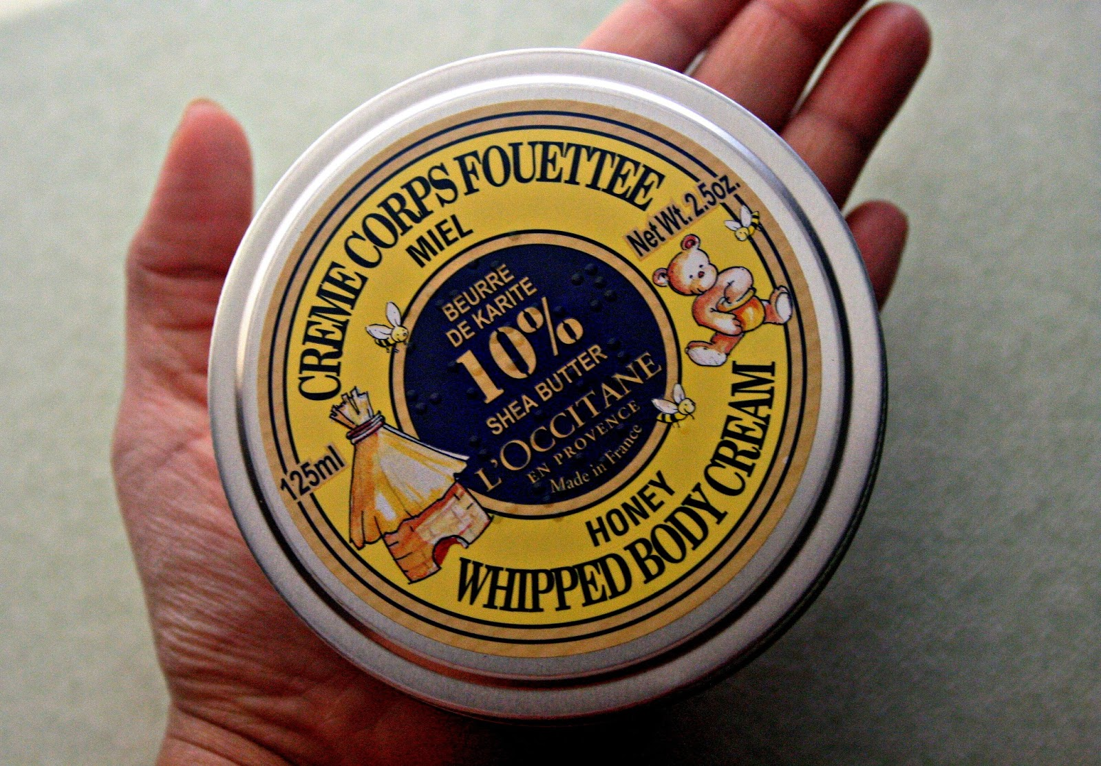 L'Occitane Shea Butter Honey Whipped Body Cream