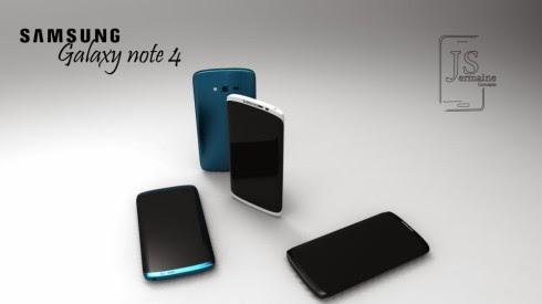 Wujud Galaxy S5 dan Note 4, berdasarkan paten desain Samsung