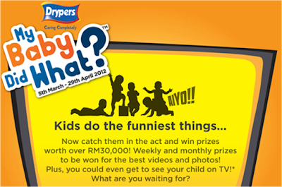 Drypers 'My Baby Did What?' Contest