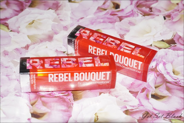 Maybelline Color Sensational Rebel Bouquet Lipsticks Review Swatches