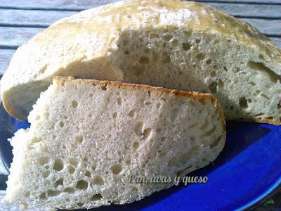 Pan de queso azul
