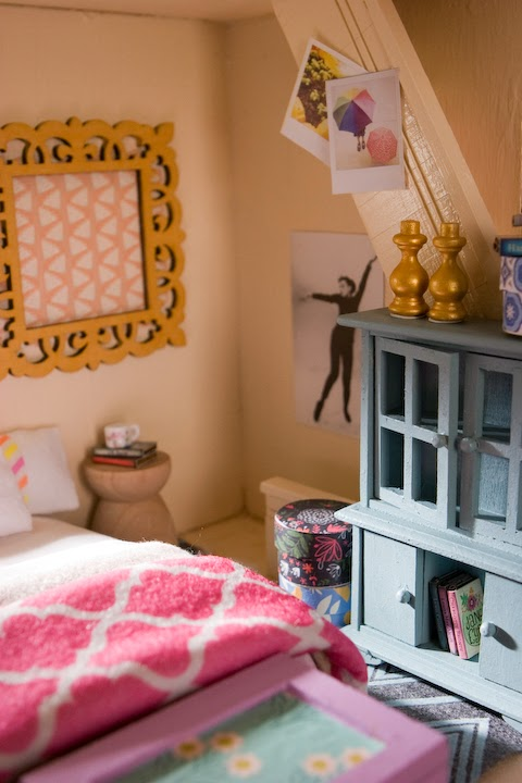 The Dollhouse Bedroom