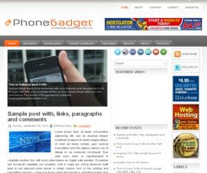 Phone Gadget Blogger Template