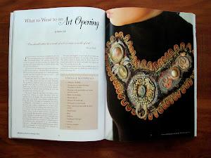 Magazine spread-neck pieces