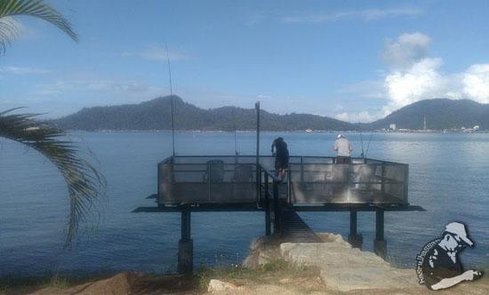 Rockbund Fishing Chalet, Lumut, Perak, Malaysia