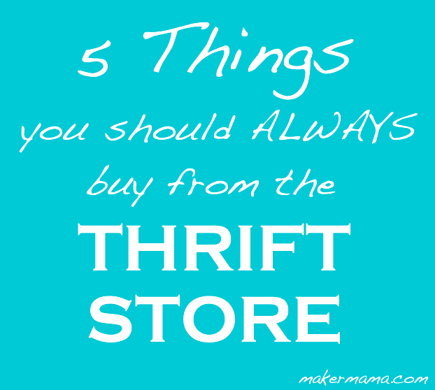 what to buy at thrift stores