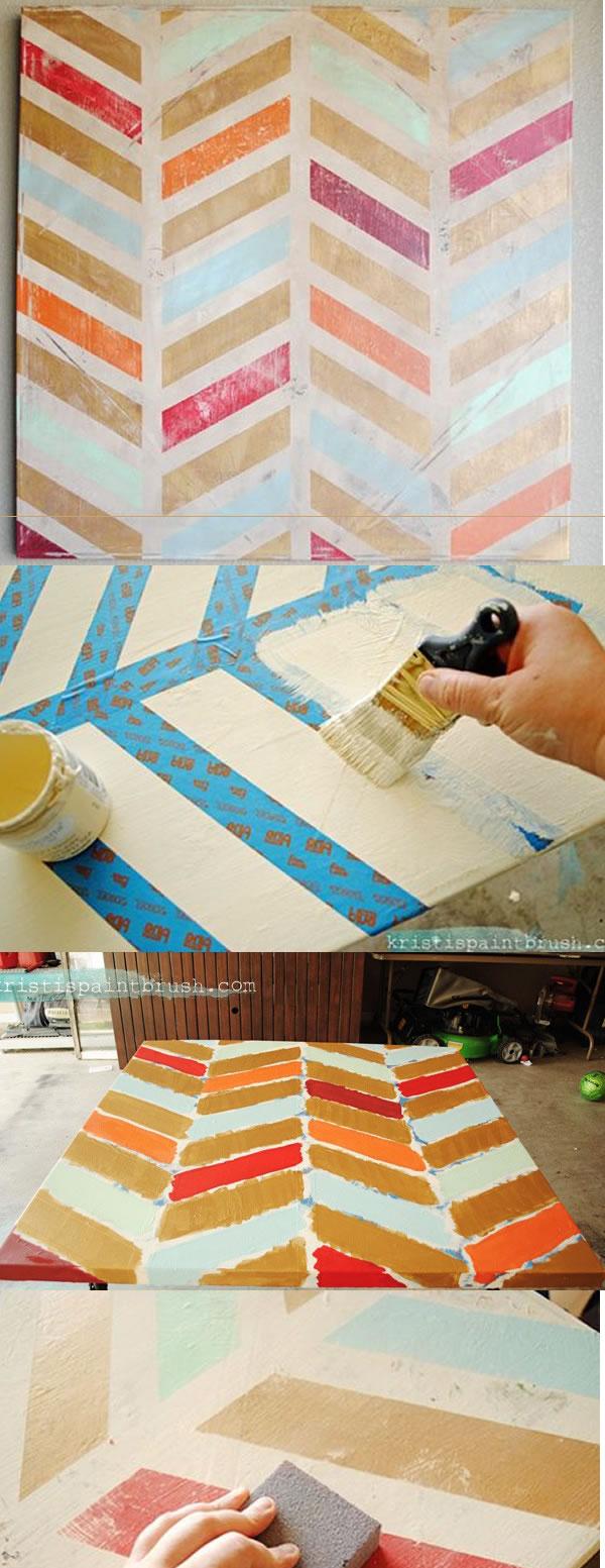 Manualidades 7 formas creativas de hacer tus propios cuadros - Pintar marcos de cuadros ...