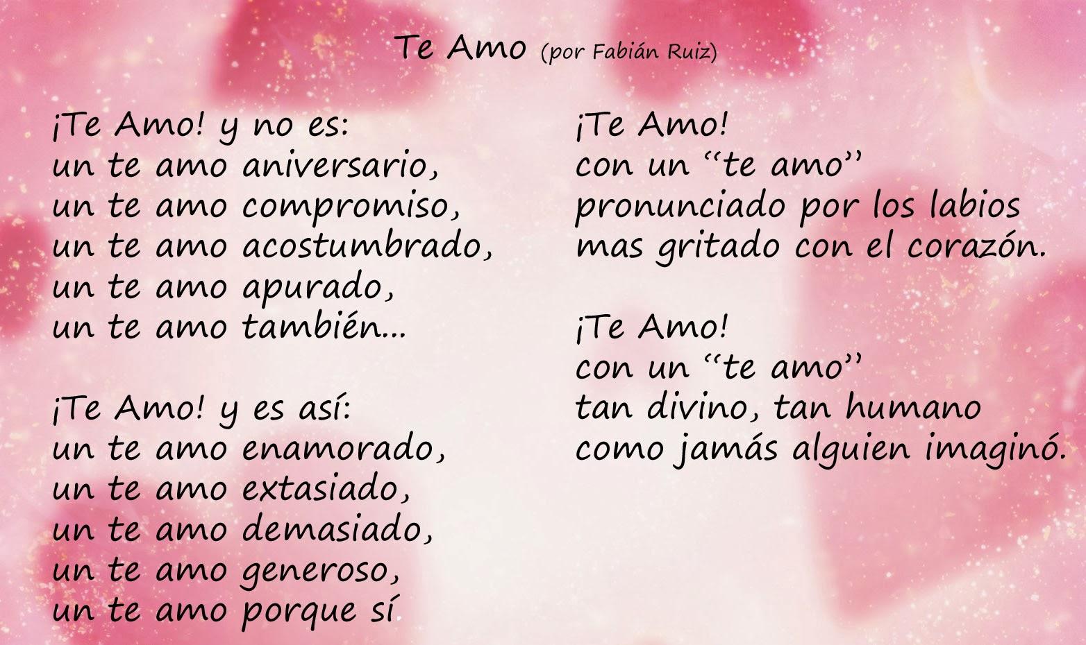 Spanish Love Poems