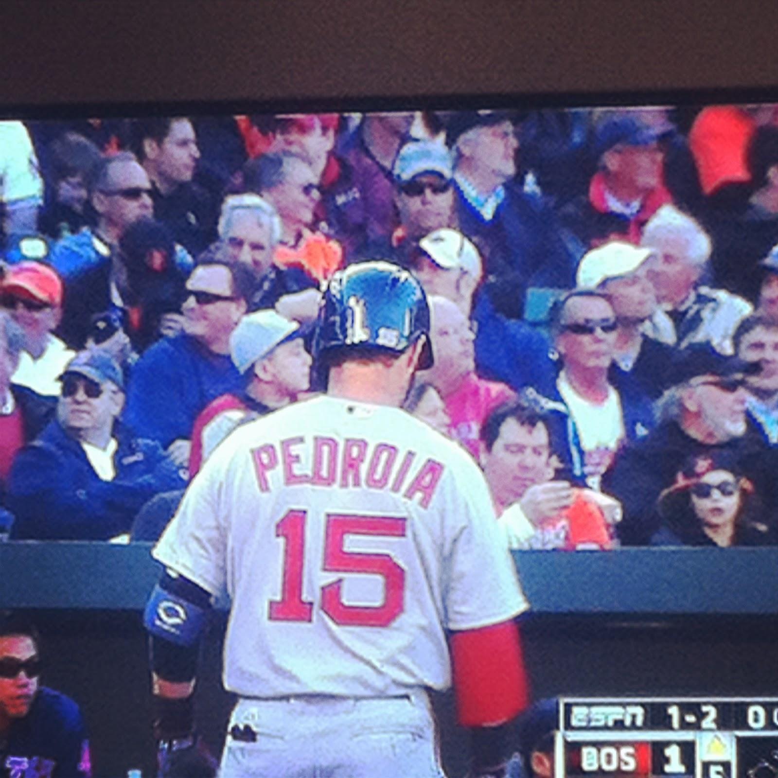 Boston Red Sox Dustin Pedroia
