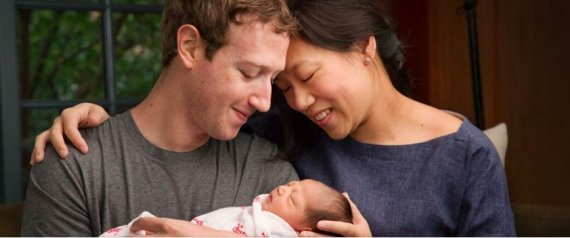 Mark Zuckerberg et Priscilla Chan annoncent la naissance de leur fille, Max
