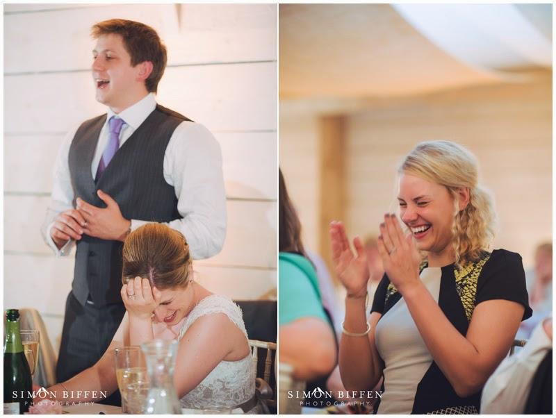 Speeches at Newton House wedding