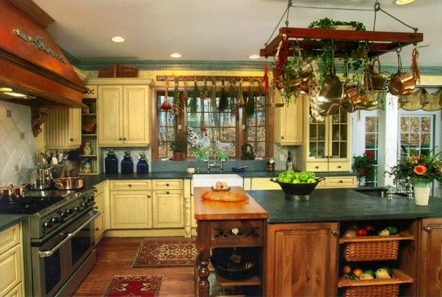 45 مطابخ خشبية كلاسيكية و مودرن