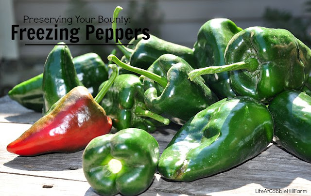 Preserve The Bounty Freezing Peppers