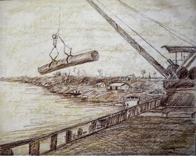 Desembarque de madeira