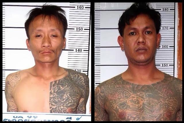 Тайские грабители надеялись защитить себя от ареста с помощью Сак Янт