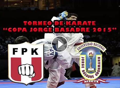 """TORNEO DE KARATE  """"Copa Jorge Basadre 2015""""  Tacna-Perú"""