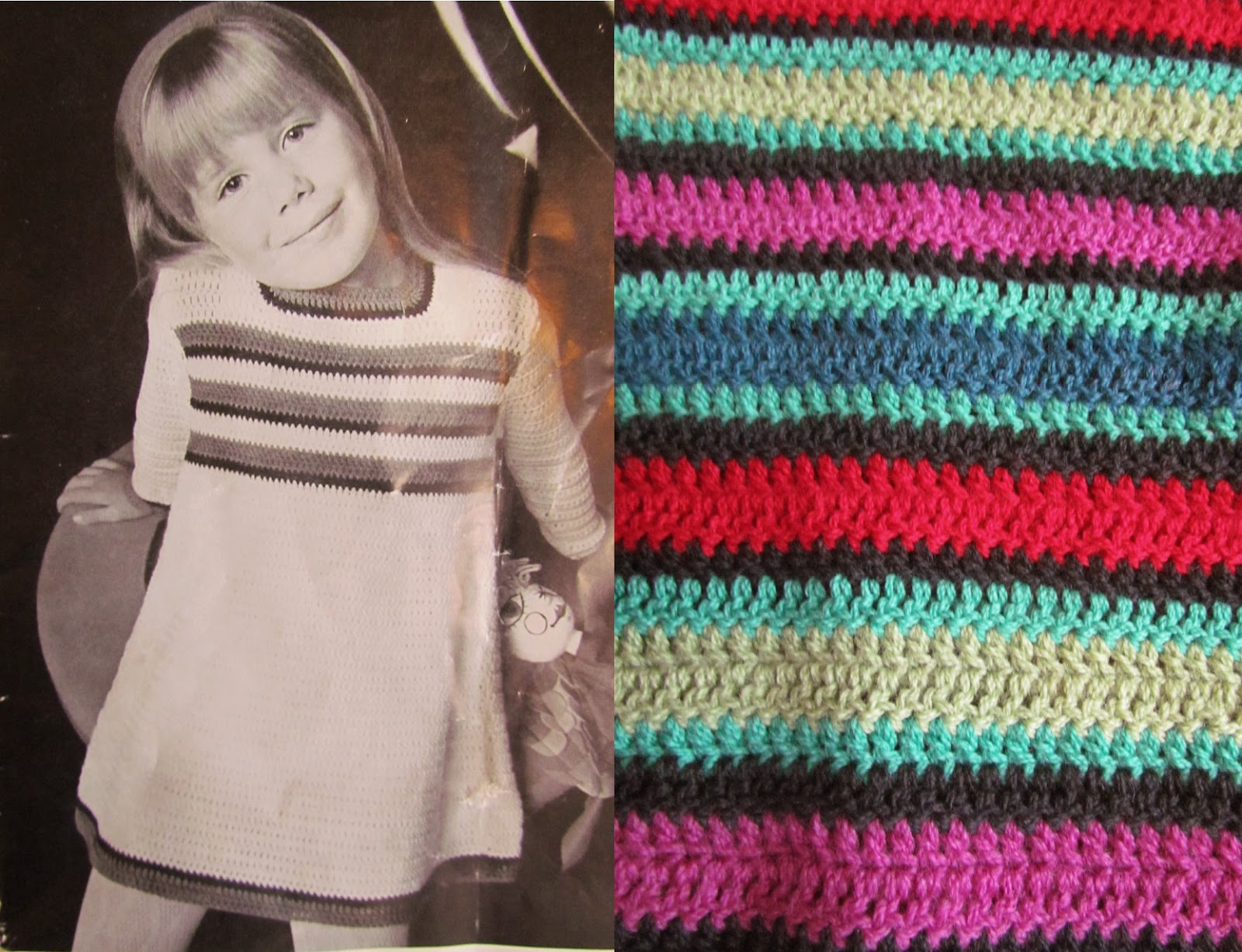Sister Outlaws May 2014 Wool Ply Conversion Tables I Had Several Balls Of 5 And Thought Stripey Would Be Fun The Dress Is Made From Top Down So Can Add Rows As Girls Get Taller