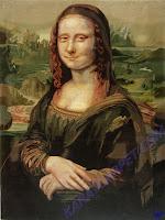 Шелковый ковер Мона Лиза.