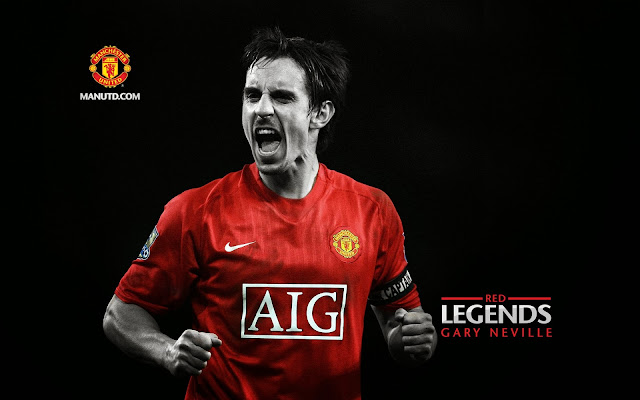 Gary Neville: Red Legends Manchester United