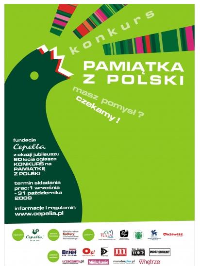 Konkurs pamiątka z Polski.