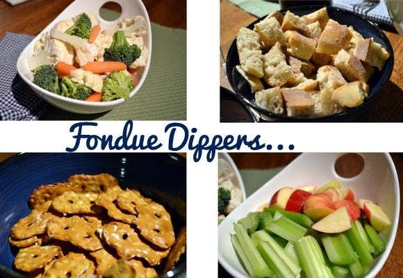 Cheese Fondue Dipping
