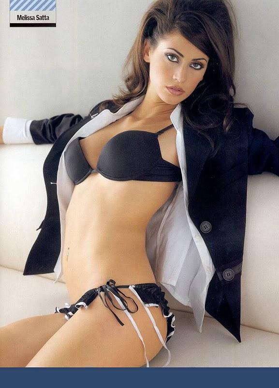 Melissa Satta Sexy in Lingerie