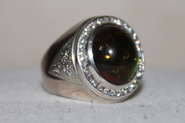 Model Cincin Batu Akik