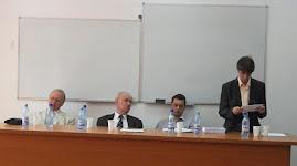 Aspecte de la susţinerea tezei de doctorat a d-lui Mihai-Cristian Amăriuţei, 9.06.2012....