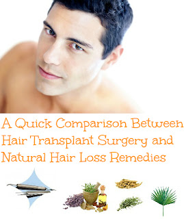 natural hair loss treatment options