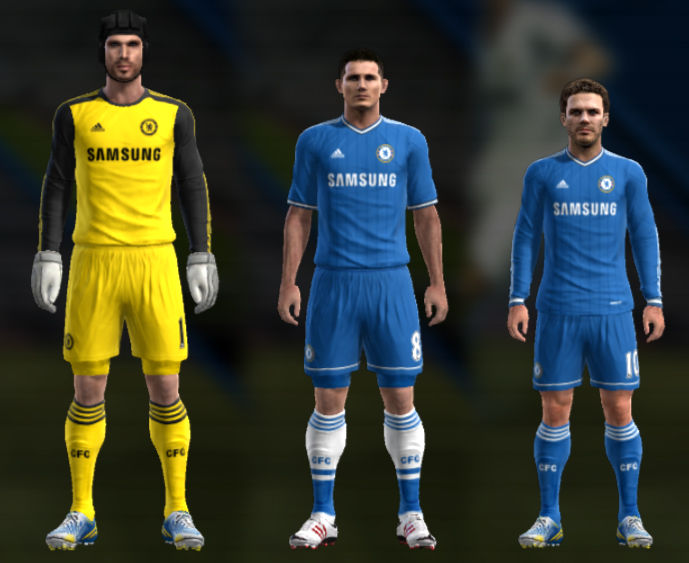 Download The New Pes 2013 Chelsea 2013 2014 Goalkeeper Home And