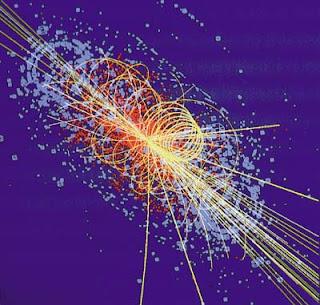 Colisión de partículas subatómicas