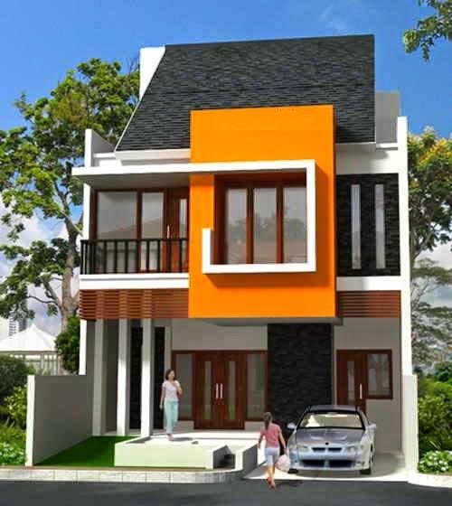 Desain Rumah Minimalis 2 Lantai Type 36 denah rumah