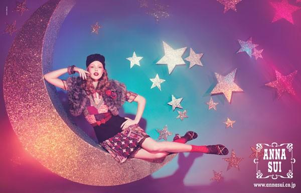 ... Hot In Fashion Advertising: Anna Sui Ad Campaign Spring/Summer 2012