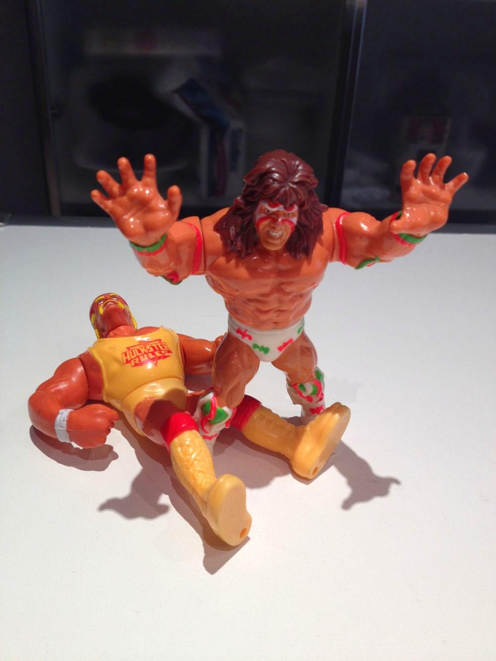 Ultimate Warrior Hulk Hogan Gig