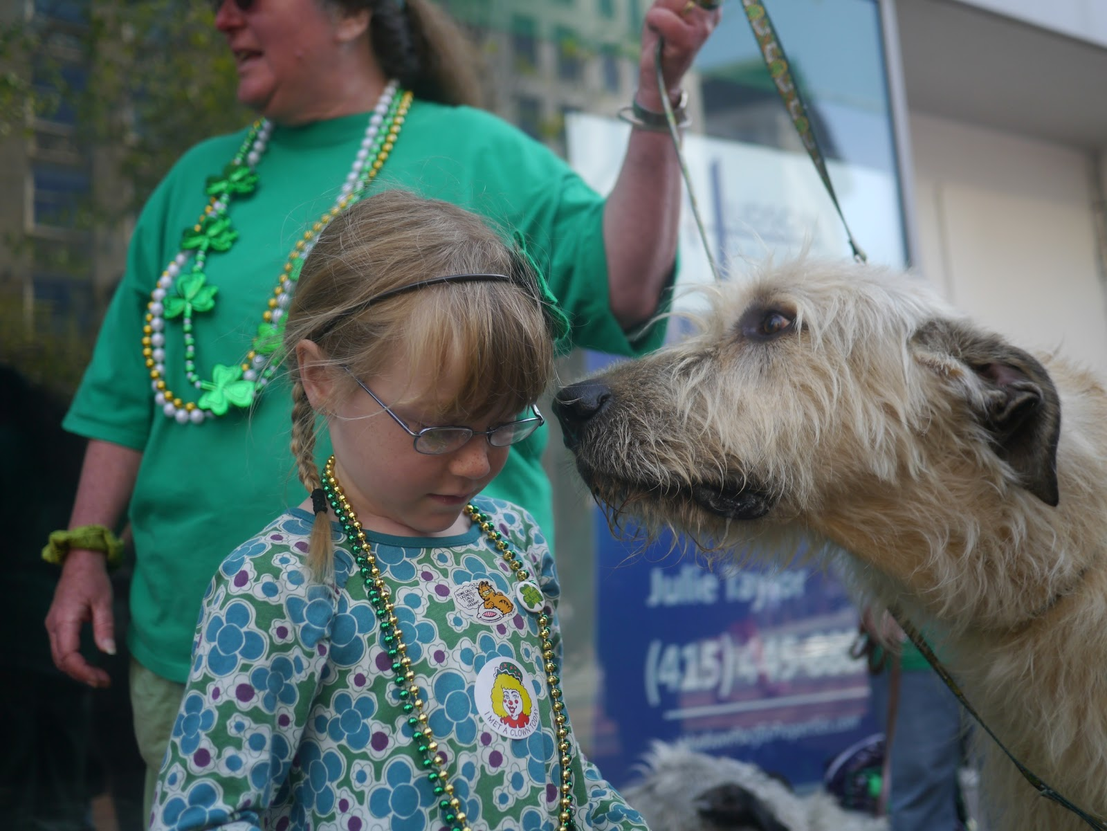 St. Patricks Day Parade draws out girls in green-glitter