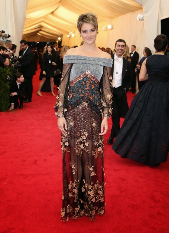 Shailene Woodley Rodarte Met Gala 2014