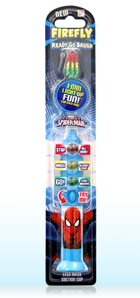 firefly ready go lightup timer toothbrush