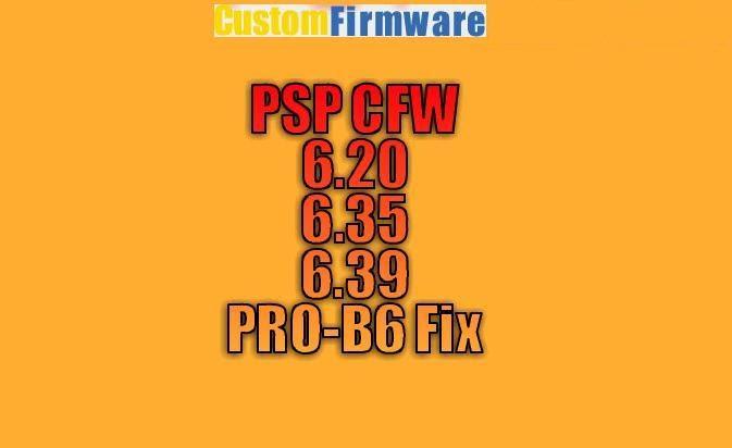 psp cfw 6.39 pro-b6