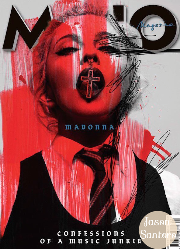 Madonna covers MOJO magazine