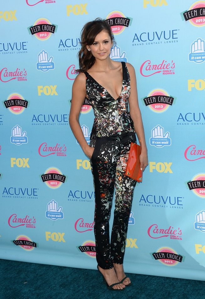 Nina Dobrev - 2013 Teen Choice Awards