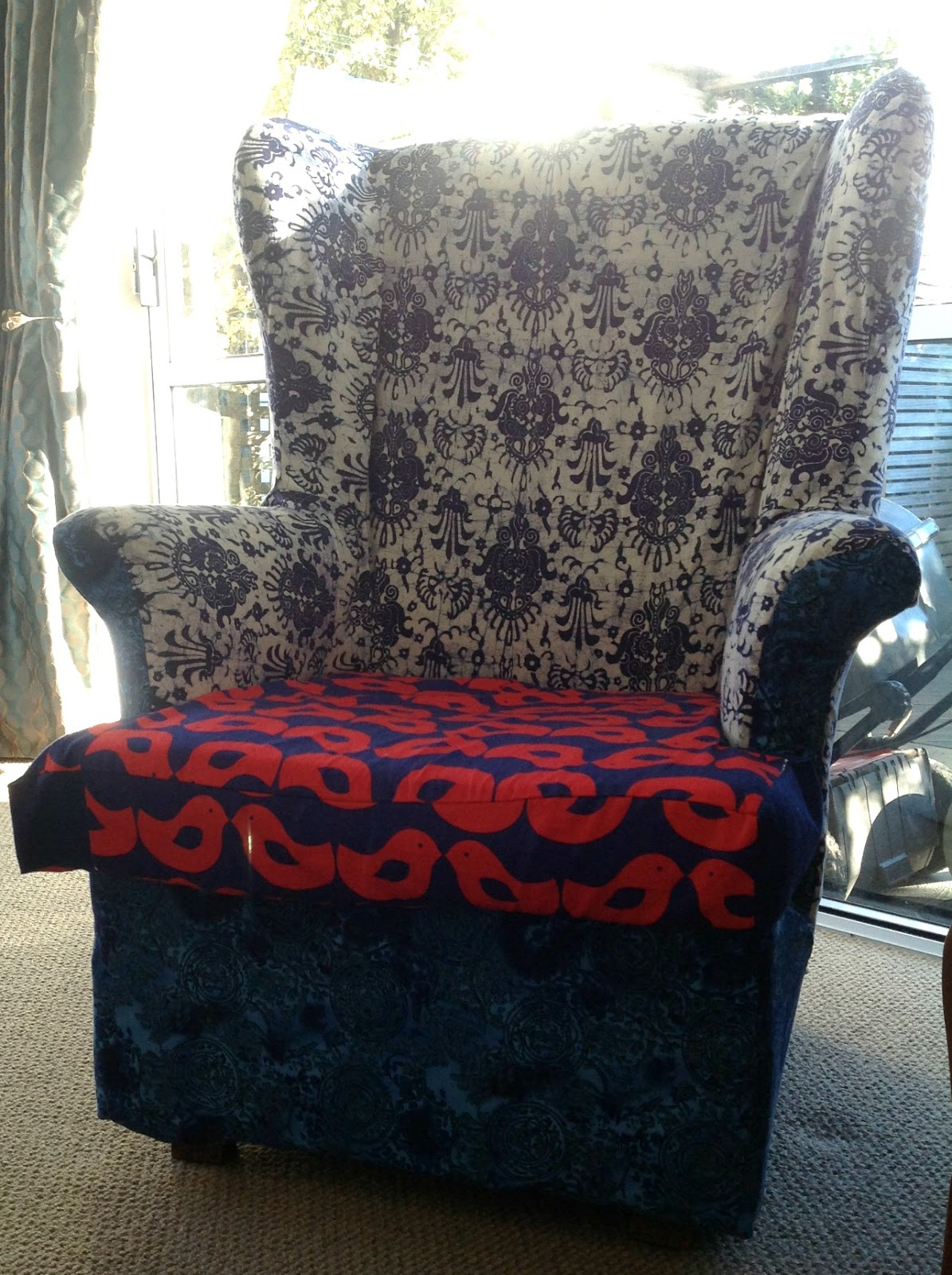 Create Hope Inspire Make My Week Lounge Chair Makeover