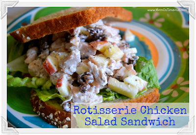 Rotisserie Chicken Salad Sandwich