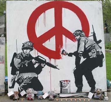 Graffiti en mi cuarto Banksy01