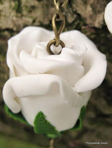 rose, roses, beads, róże