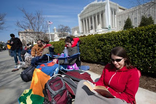 U.S. Supreme Court Hears Same-Sex Marriage Appeal Today