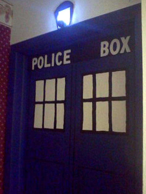 artful expression mural tardis dr who shop doctor who tardis decal on wanelo