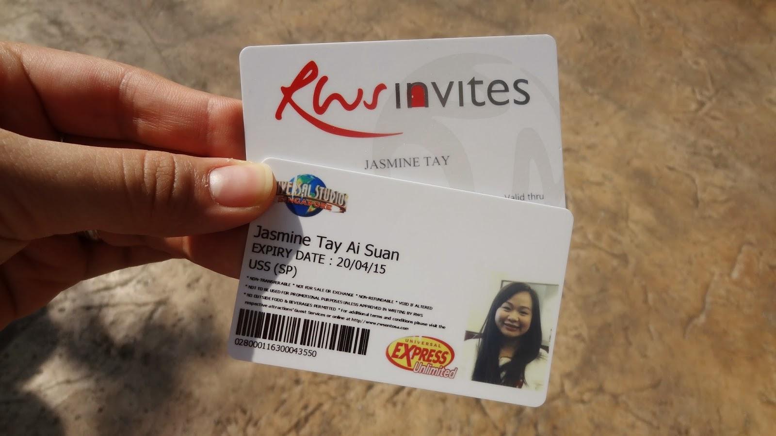 Free Birthday Vouchers ~ Universal studios singapore with wany! jasminetay.blogspot.com