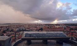 Vistas de Lisboa desde Nuestra Señora del Monte