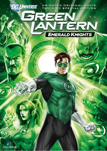 Chiến Binh Xanh: Hiệp Sĩ Ngọc Bích - Green Lantern: Emerald Knights (2011) Poster