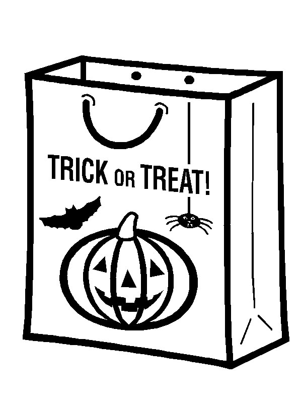 halloween coloring pages candy - free halloween coloring pages